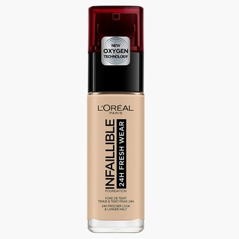 L'Oreal Infaillible Liquid Foundation 24H Fresh Wear
