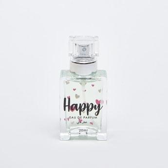 Happy Eau De Parfum Fragrance Bottle - 20 ml