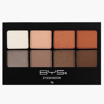BYS Cosmetics 8 Terracotta Shade Eyeshadow Palette