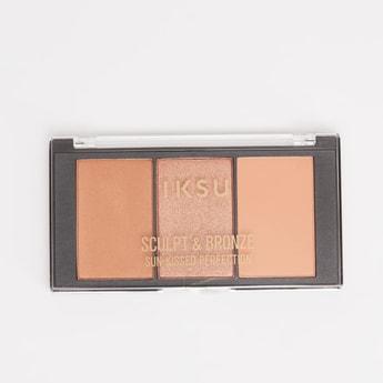 IKSU Sculpt & Bronze Sun Kissed Perfection Face Palette - 7 gms