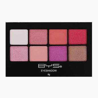 BYS Cosmetics Eyeshadow Palette - 8 gms