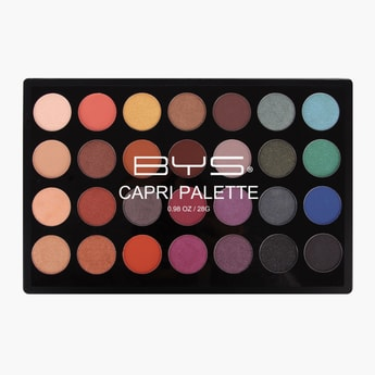 BYS Cosmetics Eyeshadow Palette - 28 gms