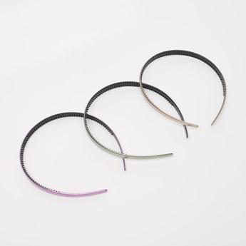 Set of 3 - Textured Hair Band