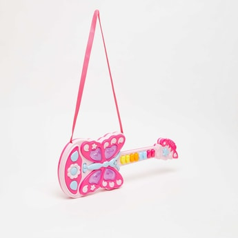 Butterfly Shaped Guitar Toy with Strap