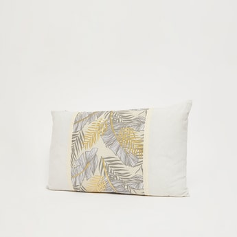 Printed Rectangular Filled Cushion - 50x30 cms