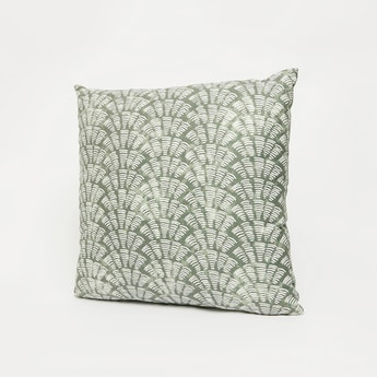 All-Over Print Filled Cushion with Zip Closure - 45x45 cms