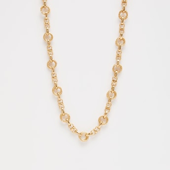 Chain-Link Short Necklace