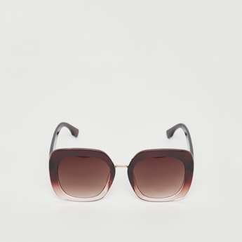 Full Rim Sunglasses with Shaded Frame