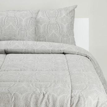 Printed 3-Piece Single Comforter Set - 220x160 cms