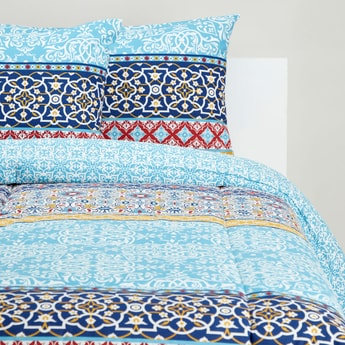 Printed 3-Piece Comforter Set - 230x220 cms