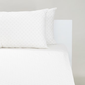 Printed 3-Piece King Bedding Set - 200x180 cms