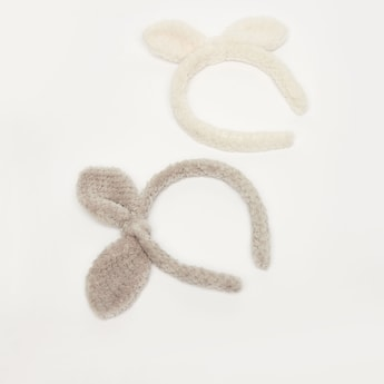 Set of 2 - Textured Hairbands
