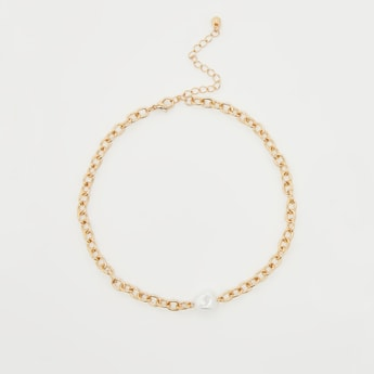 2-Piece Link Necklace and Bracelet Set