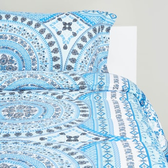 Printed 2-Piece Comforter Set - 160 x 220 cms