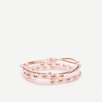 Set of 4 - Embellished Bracelets