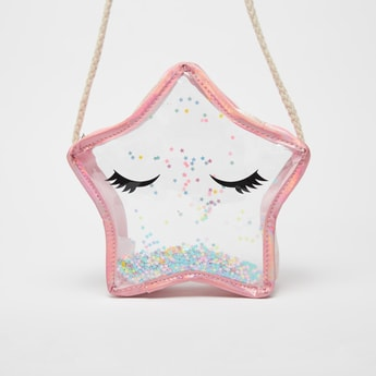 Star Shaped Transparent Crossbody Bag