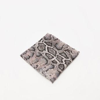 Reptile Print Rectangle Scarf