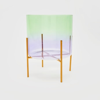 Solid Planter with Stand