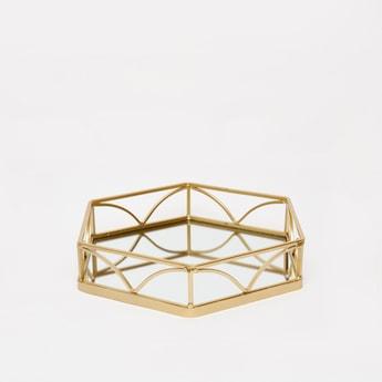 Metallic Decorative Tray
