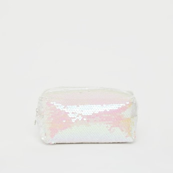 Sequin Embellished Pouch
