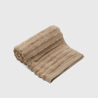 Textured Rectangular Hand Towel - 80x50 cms