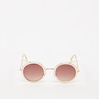 نظّارة شمسيّة بإطار عين القطة ووسادات أنف