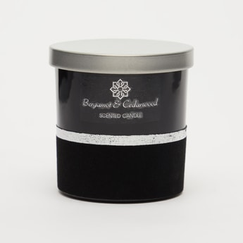 Bergamot and Cedarwood Scented Jar Candle