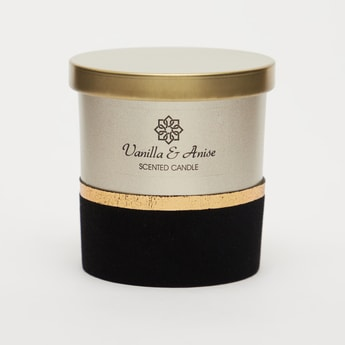 Vanilla & Anise Scented Jar Candle