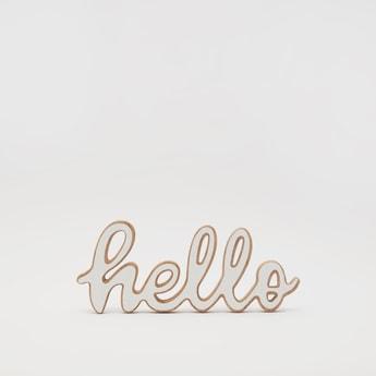 Hello Word Decor