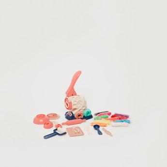 Magic Dough Happy Colour Mud Noodle Machine Playset