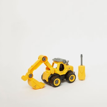 DIY Spatial Creativity Engineering Friction Toy Truck