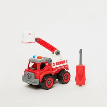 DIY Spatial Creativity Fire Engine Toy
