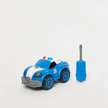 Wan Kang DIY Police Building Blocks Toy Set