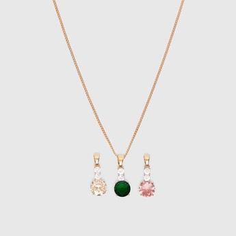 3-Piece Pendant Necklace Set