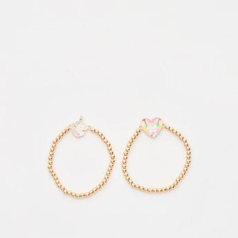Set of 2 - Beaded Bracelet