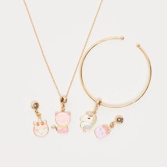 Applique Detail 6-Piece Jewellery Set