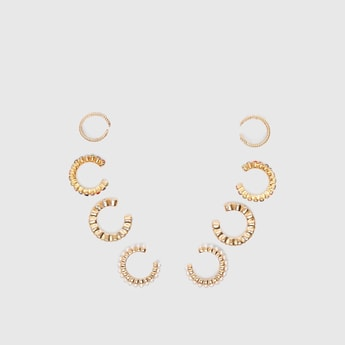 Set of 4 - Embellished Earrings