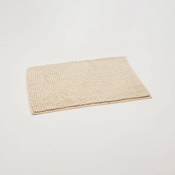 Textured Rectangular Bathmat - 70x45 cms