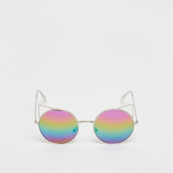 Shaded Full Rim Sunglasses with Nose Pads