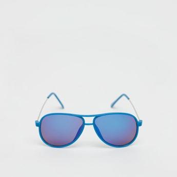 نظارة شمسية أفياتور متعددة الألوان بإطار كامل