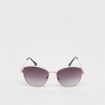 نظارة شمسية سادة مع سنادات أذن