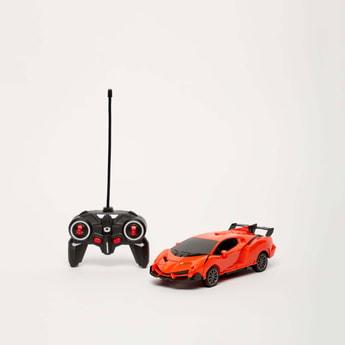 Deformation Robot Remote Control Car Toy