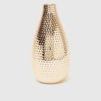 Metallic Decorative Vase