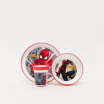 Spider-Man Print 3-Pieces Breakfast Set