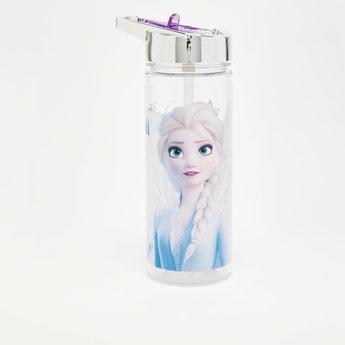 Frozen 2 Print Water Bottle with Straw