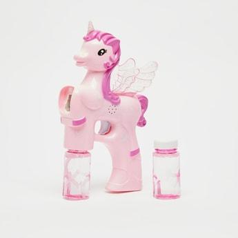 Unicorn Bubble Gun Toy
