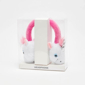 Unicorn Applique Detail Headphones