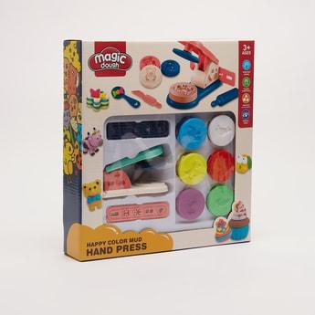 Magic Dough Happy Colour Mud Hand Press Set