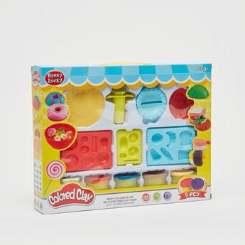 Coloured Clay Dough Set