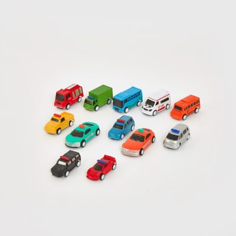 Assorted Cars Playset
